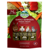 Oxbow Simple Rewards Veggie Treats 3oz