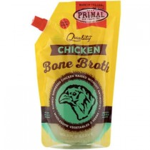 Primal Chicken Bone Broth For Cats And Dogs Frozen 20oz