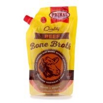 Primal Beef Bone Broth For Cats And Dogs Frozen 20oz
