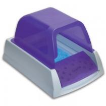 "PetSafe ScoopFree Ultra Self-Cleaning Cat Litter Box Purple 27.375"" x 19"" x 16.75"""