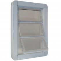 "Ideal Pet Products Premium Draft-Stopper Pet Door Extra Large White 2.5"" x 13.75"" x 18.56"""