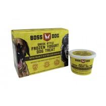 Boss Dog Peanut Butter & Banana Greek Frozen Yogurt Dog Treat 3.5oz