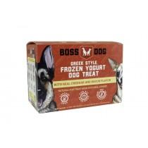Boss Dog Cheddar & Bacon Greek Frozen Yogurt Dog Treat 3.5oz