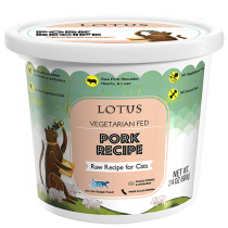Lotus Pork Frozen Raw Cat Food