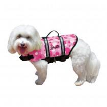 Pawz Pet Nylon Dog Life Jacket - Pink Medium