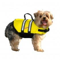 Pawz Pet Nylon Dog Life Jacket - Yellow Medium