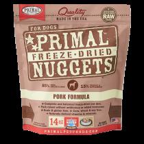 Primal Pork Freeze-Dried Raw Dog Food 14oz