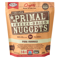 Primal Feline Pork Freeze-Dried Formula 14oz