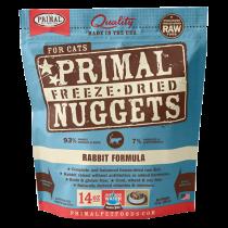 Primal Feline Rabbit Freeze-Dried Formula 14oz