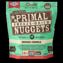 Primal Chicken Freeze-Dried Raw Dog Food 14oz