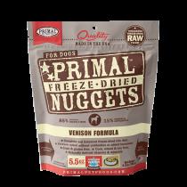 Primal Venison Freeze-Dried Raw Dog Food 14oz