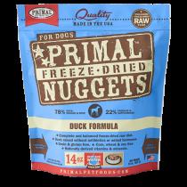 Primal Duck Freeze-Dried Raw Dog Food 14oz