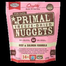 Primal Feline Beef & Salmon Freeze-Dried Formula 14oz