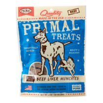 Primal Freeze-Dried Beef Liver Dog & Cat Treats