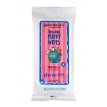 Earthbath Ultra-Mild Puppy & Kitten Wipes 28ct Travel Pack