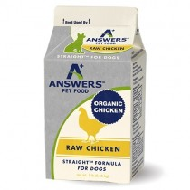 Answers Straight Chicken Frozen Raw Base Meat