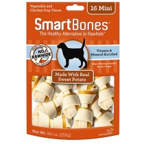 Smartbones Sweet Potato Mini Bones