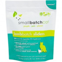 Smallbatch Lamb Frozen Sliders Raw Cat Food 3LB