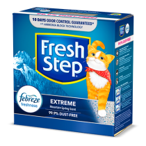 Fresh Step Extreme Odor Control Scented Clumping Clay Cat Litter 25LB