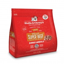 Stella & Chewy's Beef Morsels Frozen Raw Dog Food 4LB