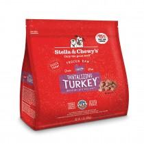 Stella & Chewy's Turkey Morsels Frozen Raw Dog Food 4LB