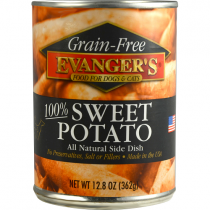 Evangers Sweet Potato Grain-Free Wet Food Topper for Cats & Dogs