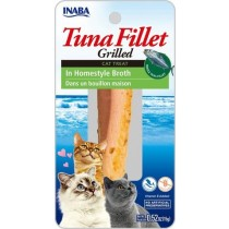 Inaba Grilled Tuna Fillet in Homestyle Broth Cat Treat 0.52oz