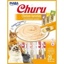 Inaba Churu Chicken Variety Pack Wet Cat Treats 2.0oz (20pk)