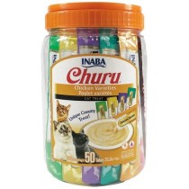 Inaba Churu Chicken Variety Pack Wet Cat Treats 2.0oz (50pk)