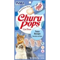 Inaba Churu Pop Tuna Recipe Cat Treat 2.16oz (4pk)