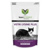VetriScience Lysine Plus Immune Support Cat Chews 90ct