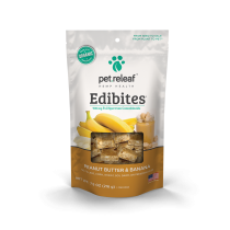 PET RELEAF EDIBITE PEANUT BUTTER BANANA 7.5oz