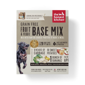 Honest Kitchen Fruit & Vegetable Grain-Free Dehydrated Dog Food Base Mix